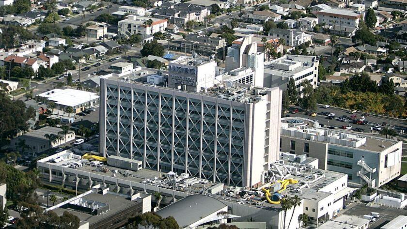 UCSD Medical Center in Hillcrest. UT/John Gastaldo