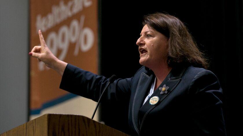 Sen. Toni Atkins, the San Diego Democrat who presides over the California Senate