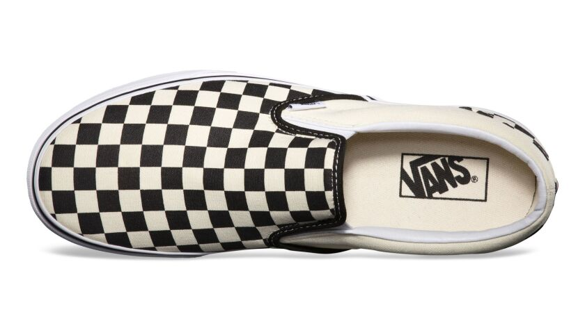 The Vans Checkerboard Slip-On, $50, has become the go-to shoe for summer 2017.