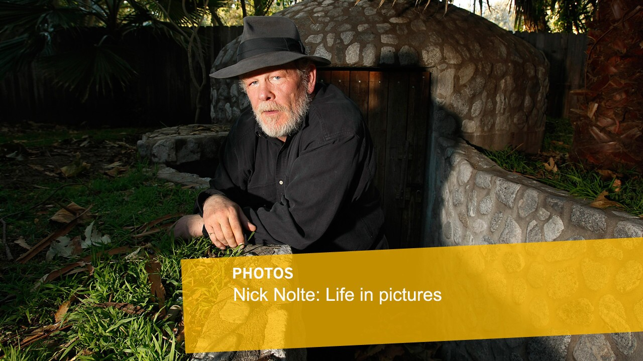 Nick Nolte: Life in pictures