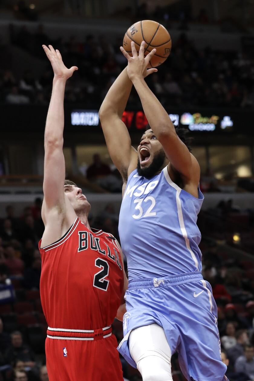 Timberwolves Bulls Basketball