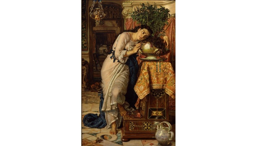 A painting by William Holman Hunt