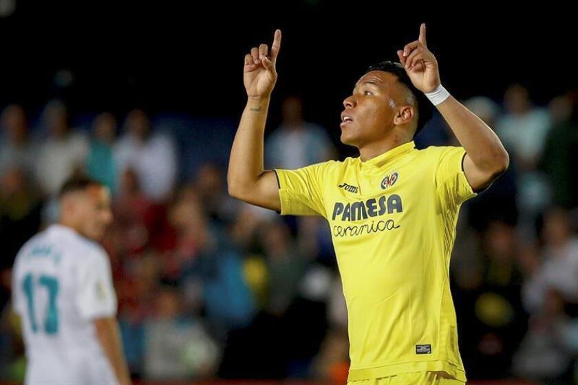 El hasta ahora delantero colombiano del Villarreal Roger Martínez. EFE/Archivo