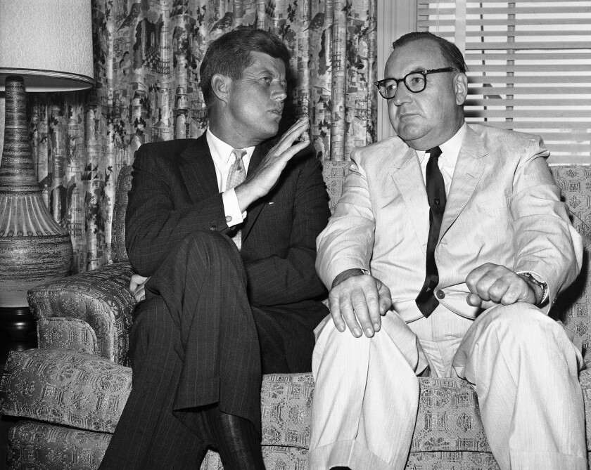 Seller is auctioning JFK documents from ex-California governor Pat Brown