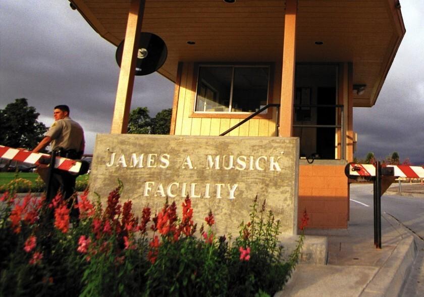 The James A. Musick jail near Irvine, Calif.