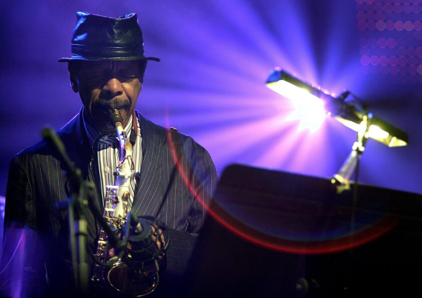 "Saxophonist Ornette Coleman, who died Thursday, performing during the ""Hommage to Nesuhi Ertegun"" at the 40th Montreux Jazz Festival in Montreux, Switzerland, in 2006."