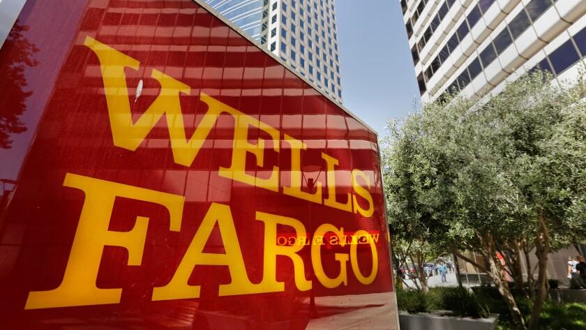 A Wells Fargo building in Oakland.