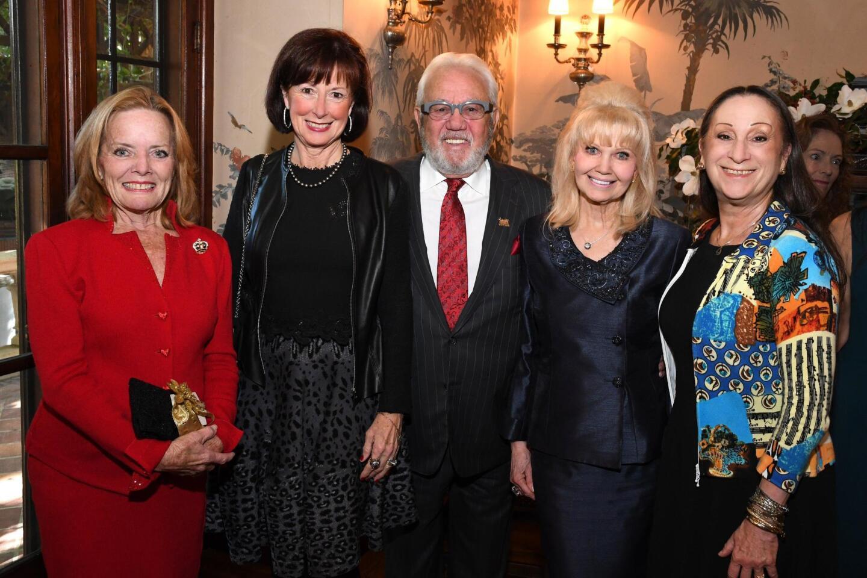 Marleen Shook (2010 chair), Barbie and Dan Spinazzola, Cristull Hasson, Laurielynn Barnett