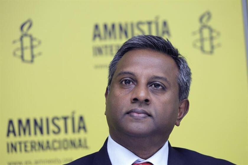 Fotografía del secretario general de Amnistía Internacional (AI), Salil Shetty.