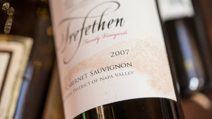 """The Trefethen winery in Napa has been a strong advocate for maintaining integrity of the name """"Napa"""" on labels worldwide."""