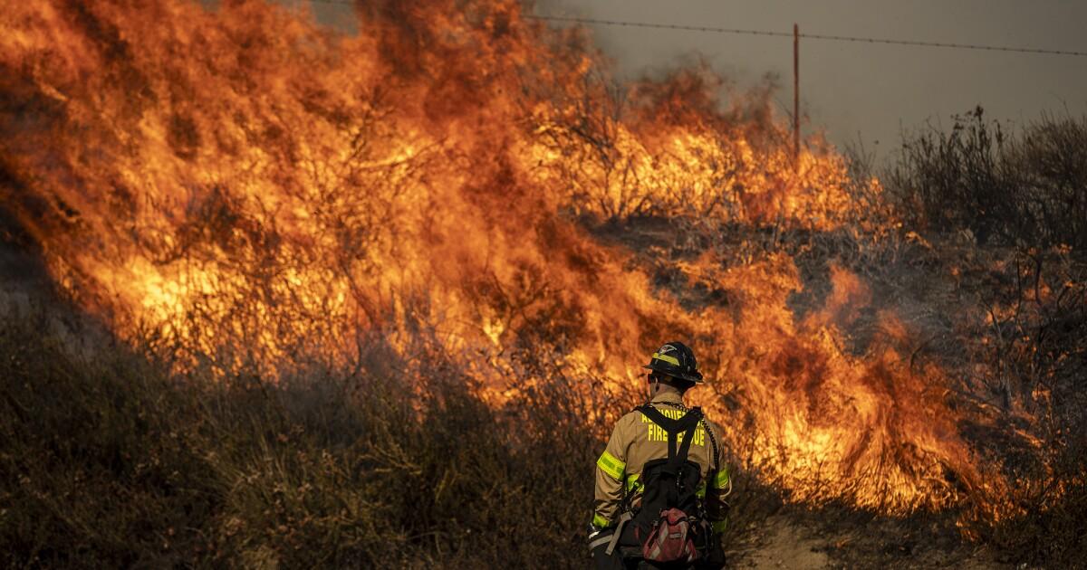 からリバーサイドへのVentura県消防戦い