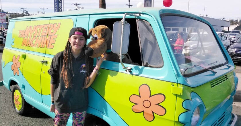Copy - Mercedes Lordigyan with Mystery Machine.jpg