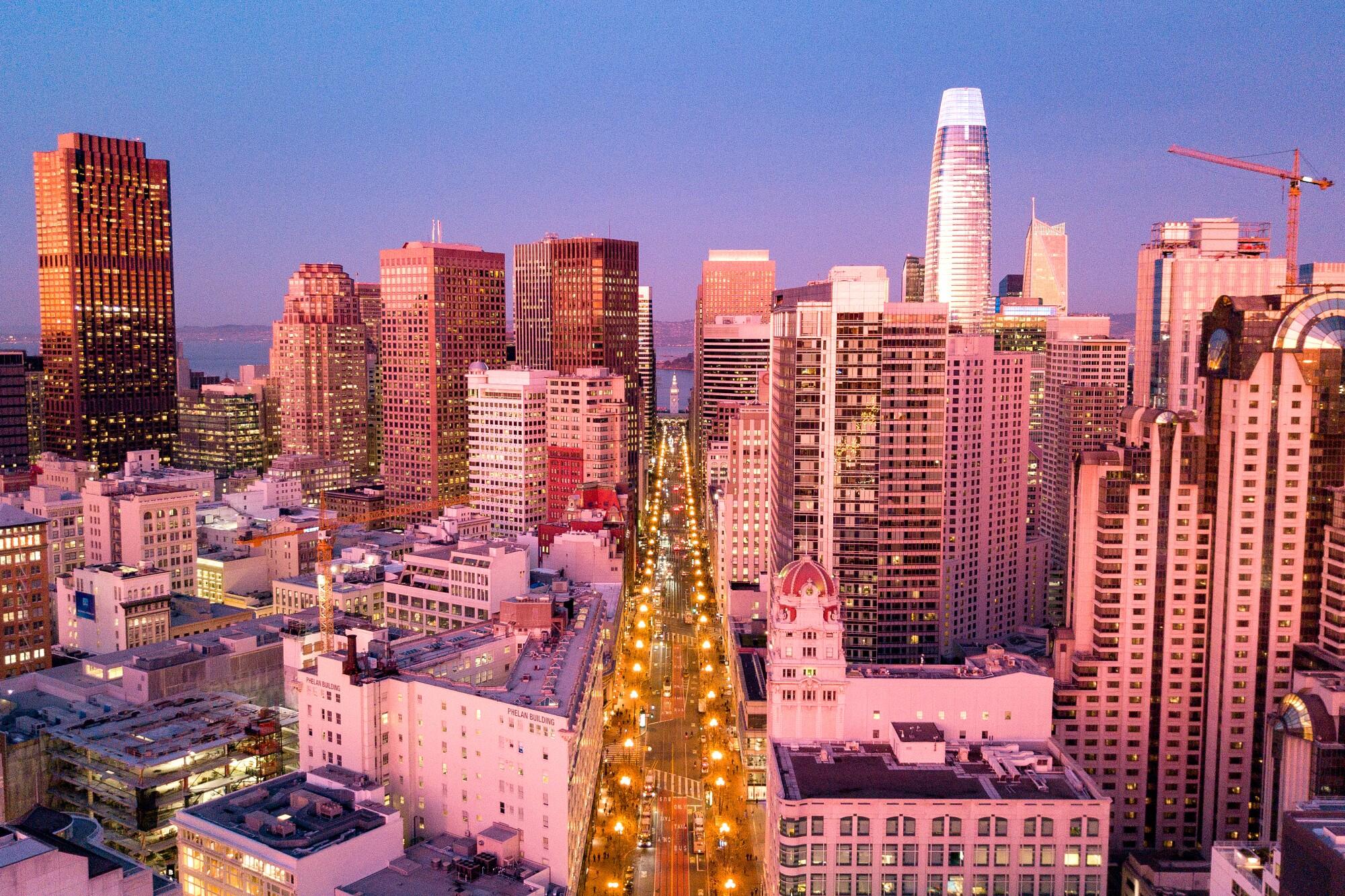 Market Street in San Francisco