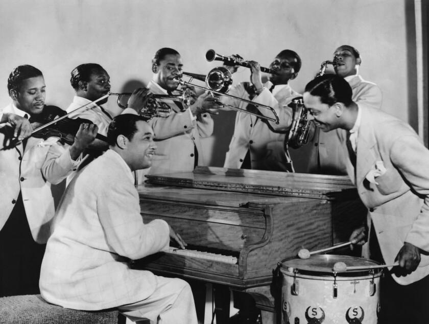 Mid 1940s, California, Duke Ellington