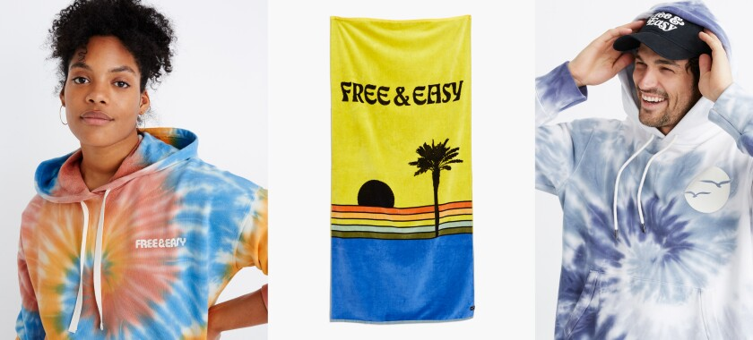 Selections from Free & Easy X Madewell's L.A.-influenced capsule collection.