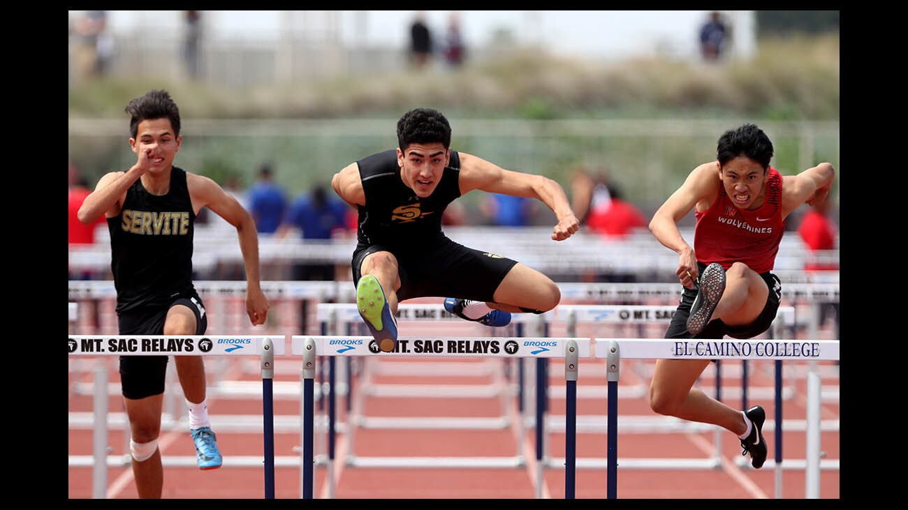 Photo Gallery: Local athletes participate in CIF SS track and field divisional finals