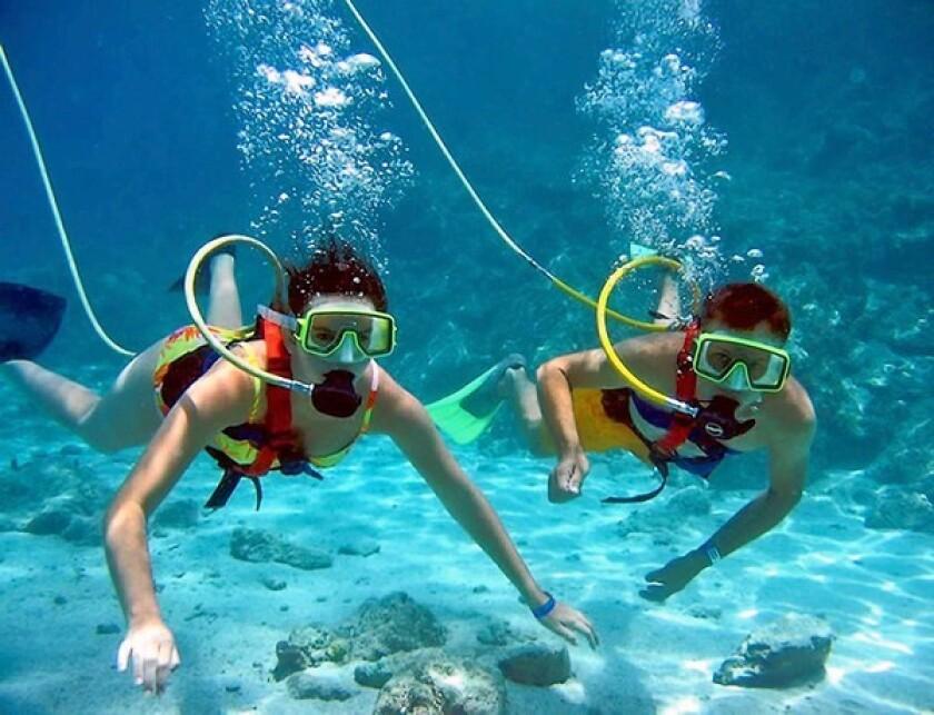 Snuba: A fun mix of scuba and snorkeling