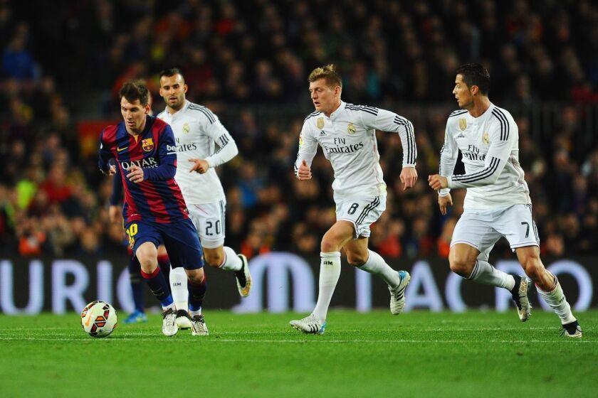Barcelons vs Real Madrid, un choque muy esperado.