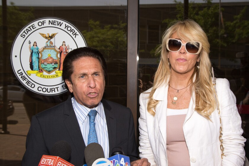 Dina Lohan Court Appearance