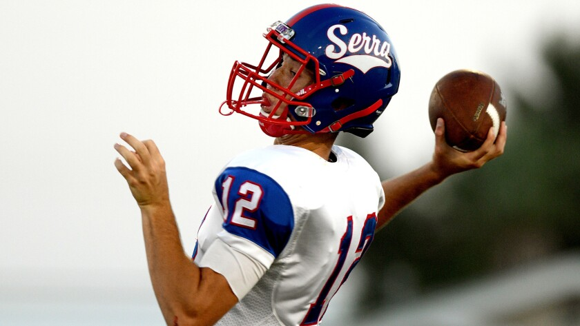 Quarterback Blaze McKibbin has transferred from Gardena Serra to Westlake.