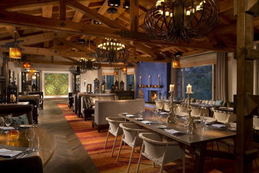 Veladora, at Rancho Valencia Resort & Spa.