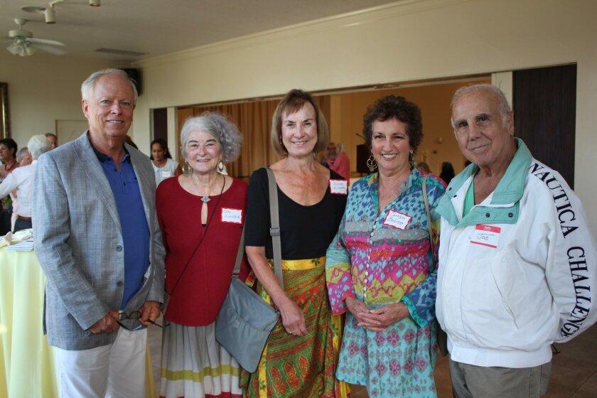 Craig Robinson, Gay Sinclair, Carolyn Boline, Susan Wilson, Joe Annino