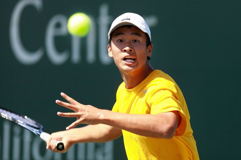Torrey Pines senior Henry Ji won the San Diego Section singles championship.