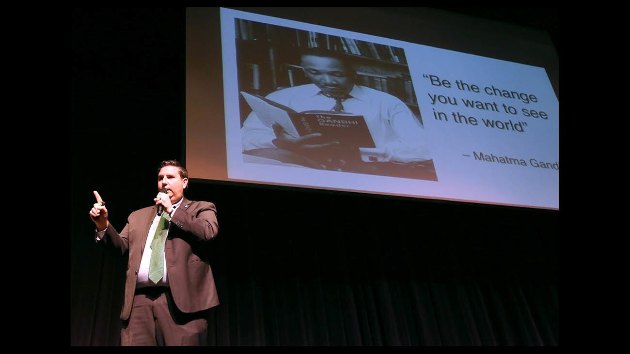 Photo Gallery: Martin Luther King Jr. celebrated at Glendale Community College