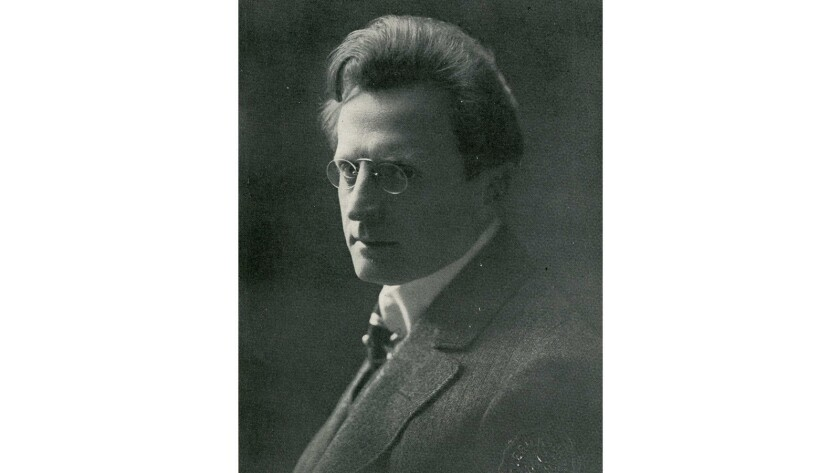 A portrait of conductor Walter Henry Rothwell.