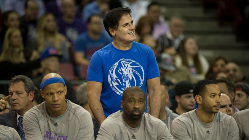 """""""Losing is our best option,"""" said Dallas Mavericks owner Mark Cuban, who was fined $600,000 by the NBA for suggesting his team should tank its games."""