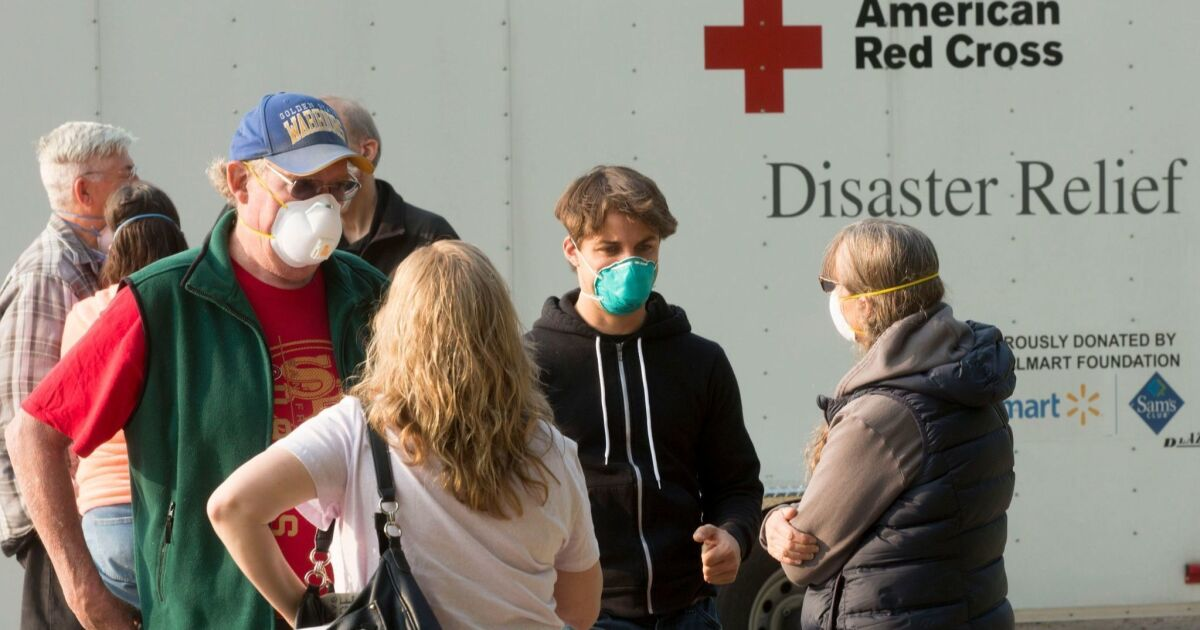 Coronavirus erschwert California wildfire Vorbereitung; wirft sorgen über Notunterkünfte