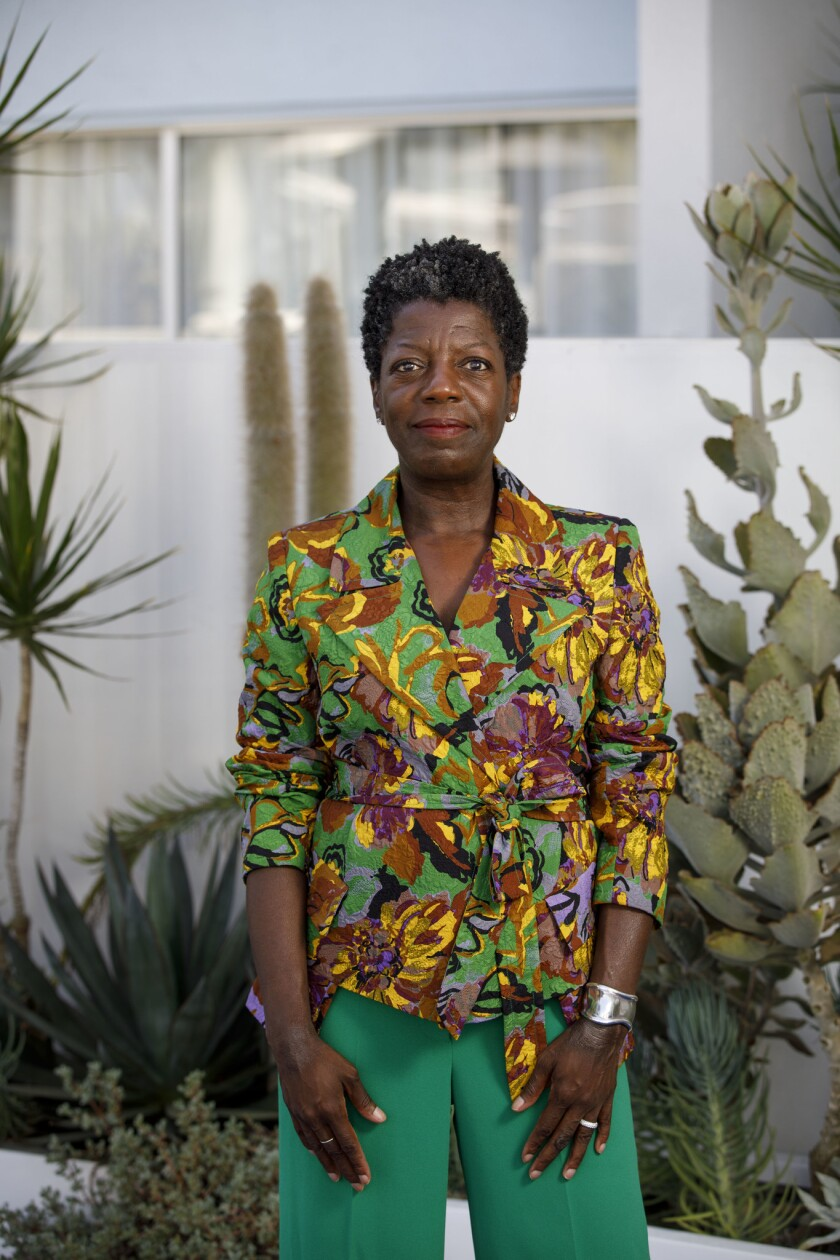 Thelma Golden, director of the Studio Museum in Harlem and member on the board of trustees at the Lo