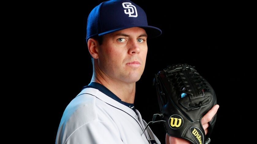 San Diego Padres pitcher Clayton Richard.