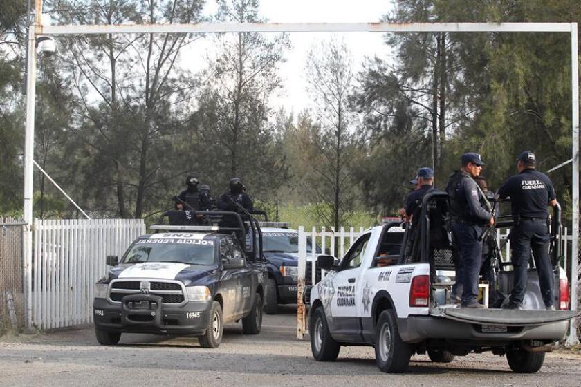 """La Comisión Nacional de Seguridad (CNS) informó hoy de la detención de Nicandro N., que medios locales identificaron como Nicandro Barrera, alias """"El Nica"""", uno de los fundadores y operador financiero del grupo criminal la Familia Michoacana y su derivación como los Caballeros Templarios."""