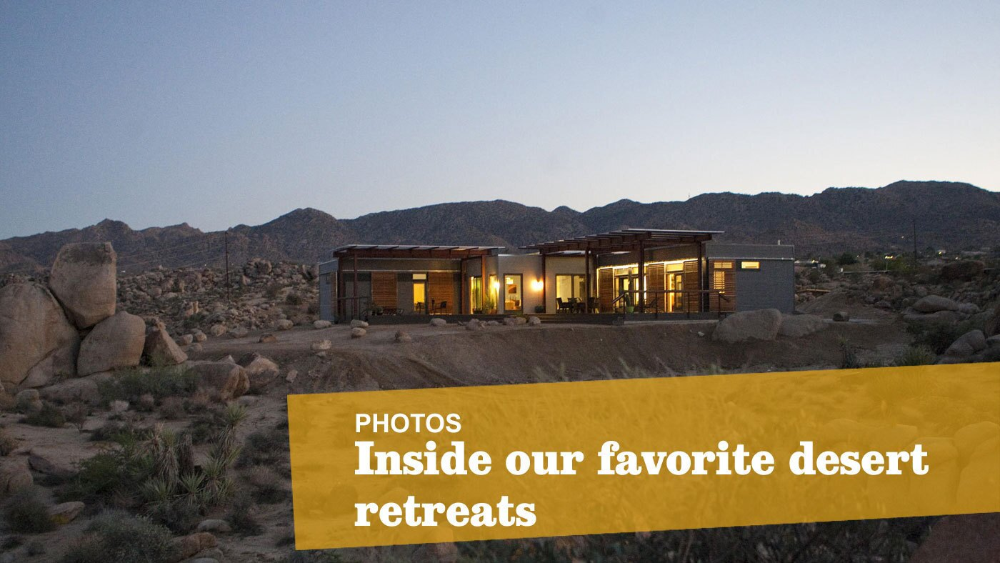 Desert retreats