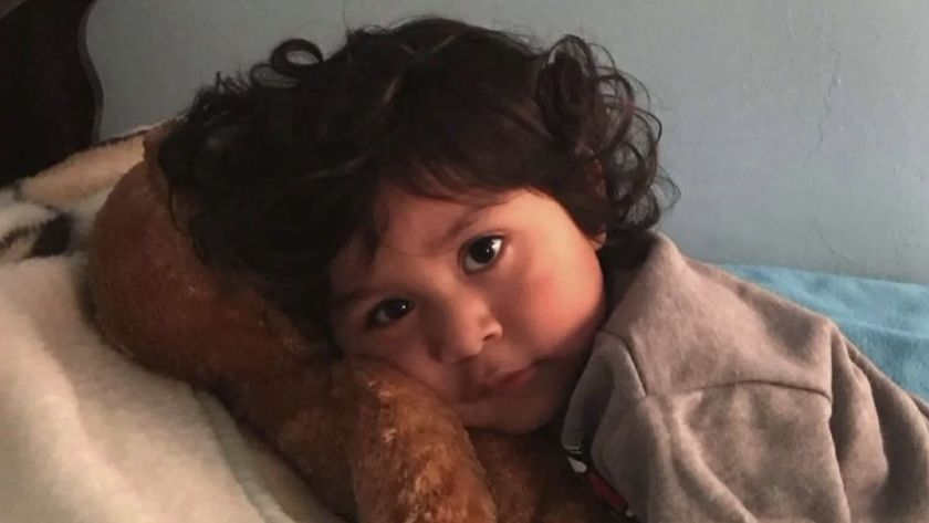 Noah Cuatro is seen in an undated photo provided to KTLA by his great-grandmother Eva Hernandez
