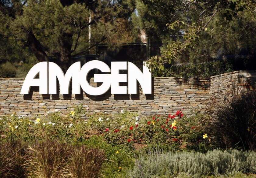 Amgen Inc., the Thousand Oaks biotech company, agreed Tuesday to pay $71 million to settle allegations by 48 states that the company improperly promoted off-label uses of two of its drugs.