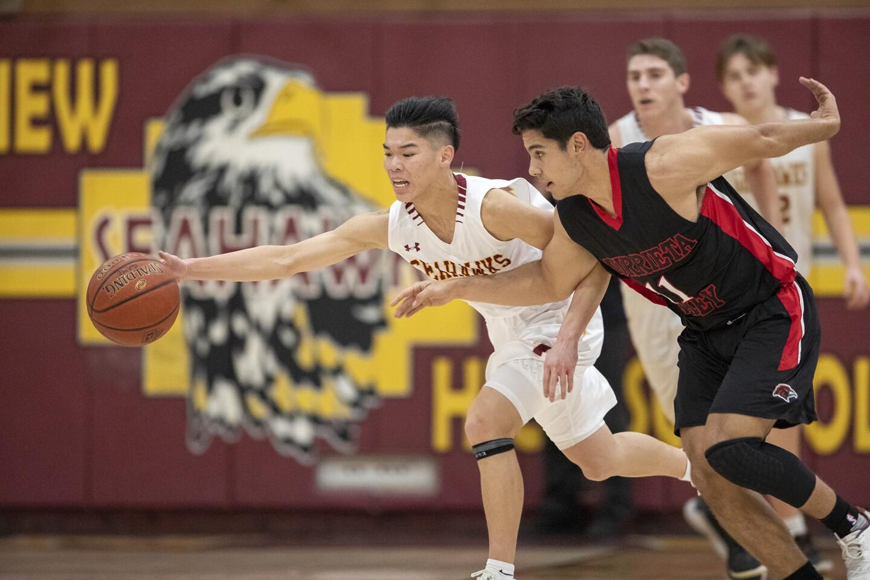 Photo Gallery: Ocean View vs. Murrieta Valley in boys' basketball