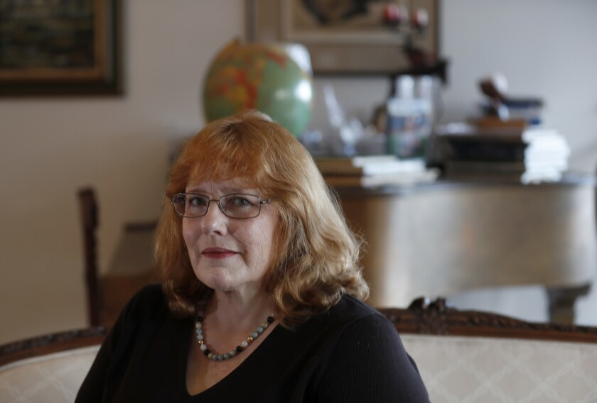 SAN PEDRO, CALIF. - FEB. 9, 2019. Los Angeles Deputy City Attorney Elizabeth Greenwood says she cont
