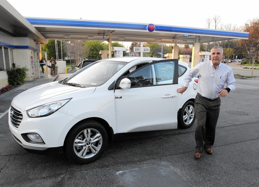 Gas station to install alternative fuel pump - Los Angeles Times