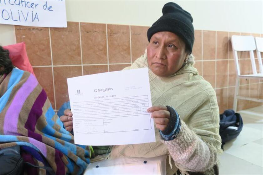 Bolivian law ensures free medical care for cancer patients