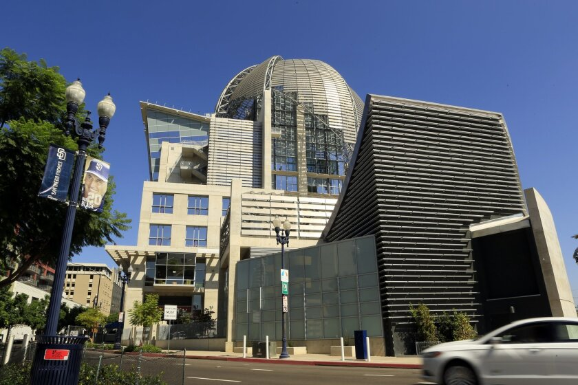 Like all of San Diego's city and county libraries, the San Diego Central Library is closed to the public due to the coronavirus. But there are plenty of library resources available online and on social media.