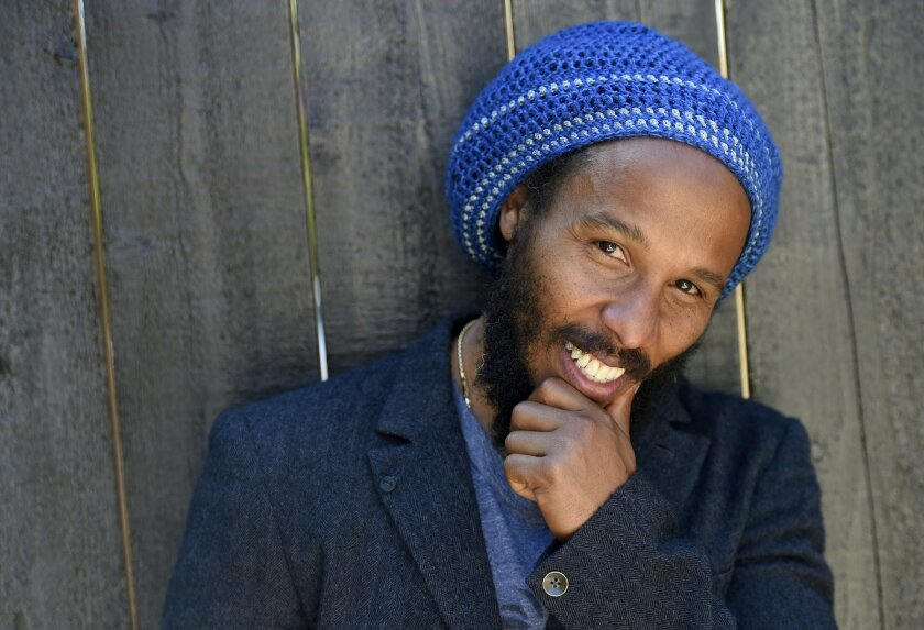 In this May 2, 2016 photo, Ziggy Marley poses for a portrait to promote his self-titled sixth studio album in Los Angeles. (Photo by Chris Pizzello/Invision/AP)