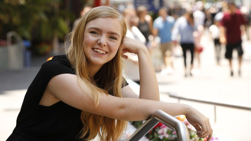 """Elsie Fisher was one of several young actors who carried much of the weight of their films this season. Her tips for directors who work with teens: """"Treat teenagers like people. You don't have to pander to them."""""""