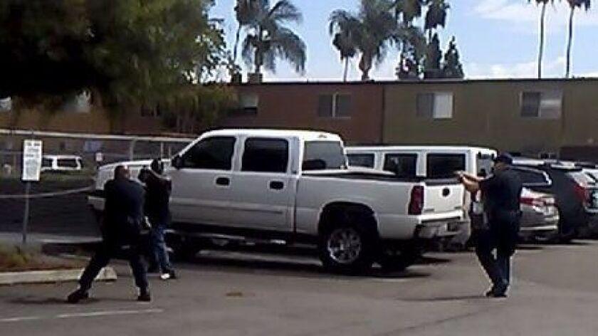 El Cajon police shooting image