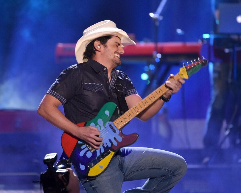 Brad Paisley will perform as part of the 2017 Country Megaticket package at Sleep Train Amphetheatre in Chula Vista. (Kevin Winter/Getty Images for iHeartMedia)