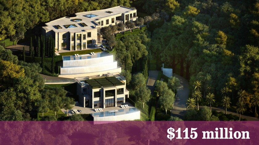 Rendering shows the first of three estates planned for Park Bel Air.