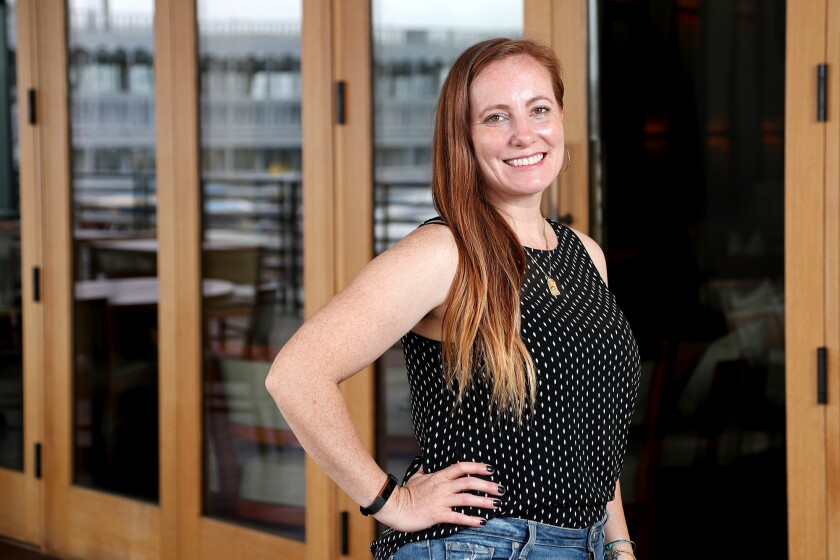 "Costa Mesa resident Kara Duffy is founder of ""The Powerful Ladies"" online community."
