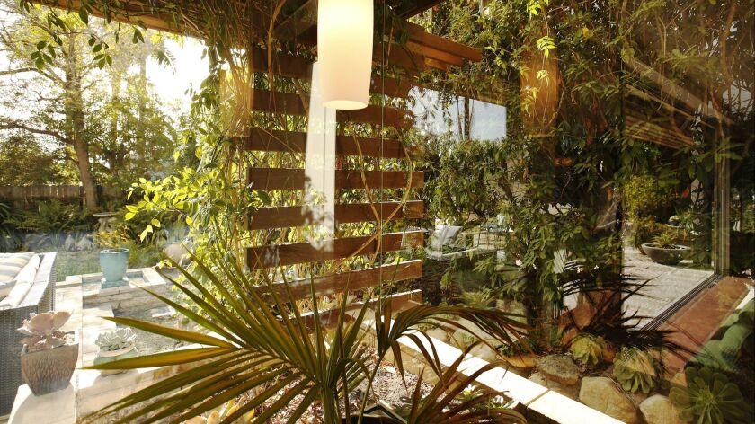 SANTA BARBARA, CA – DECEMBER 01, 2017: Santa Barbara home of architect Kevin Dumain and his wife J
