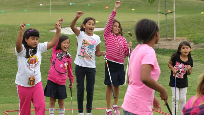 April 30, 2013, Oceanside, California, USA_|Pro Kids The First Tee San Diego (Oceanside Campus)- Kid